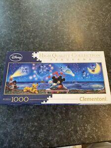 DISNEY MICKEY AND MINNIE PANORAMA JIGSAW PUZZLE 1000 PIECE by Clementoni