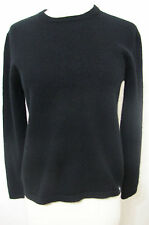 STUSSY Deluxe Black Cashmere Sweater S Unisex