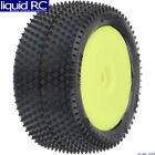 Pro-Line 829712 Prism Carpet Tires MTD Yellow Mini-B Rear