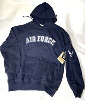 Rothco USAF Blue Embroidered Pullover Hooded Sweatshirt  Air Force   NWT