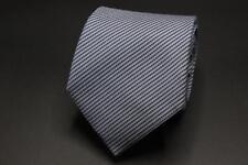 Recent ERMENEGILDO ZEGNA Blue Stripe Silk Tie.