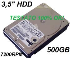 """3,5"""" HARD DISK DRVE HITACHI HDS725050KLA360 500GB 42C0485 IBM STORAGE 0A29514 HD"""