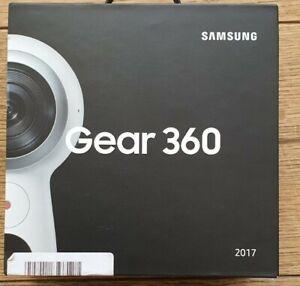 Brand New Samsung Gear 360 (2017) Camcorder - White