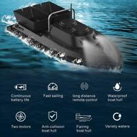 Barco de cebo de pesca inalámbrico de lancha rápida 500M Nave de control remoto