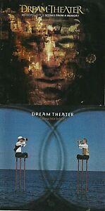 5 Dream Theater CDs :Metropolis 2/Live Time/Falling Into Infinity/Awake/A Change
