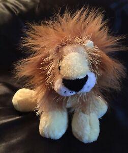 "Ganz Webkins Sweet Fuzzy Lion 10"" Plush Stuffed Animal NO CODE SANITIZED"