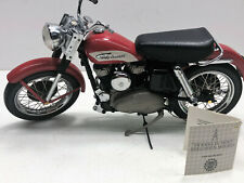 1956 Franklin Mint Harley Davidson Elvis K.H. Motorcycle Model 1:10 Scale