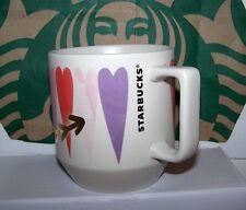 Starbucks Coffee Valentin's Hearts Ceramic Mug 12 Fl Oz 2017 New