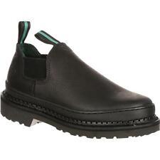 "Georgia GR270 4"" Giant Romeo Slip On Chelsea Style Oil Resistant Work Shoes"