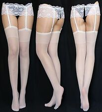 10 Pair Suspender Hold UPS Various Colors Universal Size 20 Den The Classic EU Pink 2