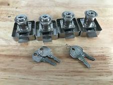 HAFELE Cabinet Locks with Keys, 4 Pcs, Self-Locking Type, Use Key to Unlock