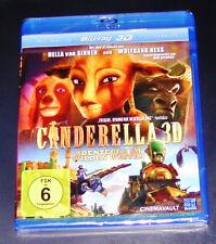 Cinderella Adventure Im Wild West 3D+2D FAST SHIPPING BLU -RAY NIP