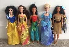 5 Disney Princess Barbie Dolls & Clothes Bundle - Pocahontas Jasmine