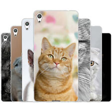 Dessana Cats TPU Silicone Protective Case Case Pouch Cover For sony