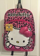 Hello Kitty Animal Print Backpack-BRAND NEW