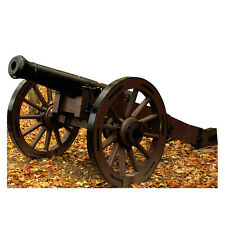 CIVIL WAR CANNON Battle Howitzer CARDBOARD CUTOUT Standup Standee Poster Prop