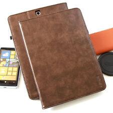 """Cover für Samsung Galaxy Tab S3 9,7"""" Leder Schutz Hülle Tasche Smart Case braun"""