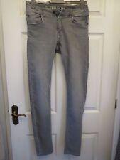 H&M para hombre Gris Jeans, Talla 32 Super Slim Fit