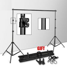 Photography Studio Background Holder With Carry Bag For Backdrops Paper Canvas