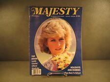 Majesty Royalty Magazine October 1987 Princess Diana