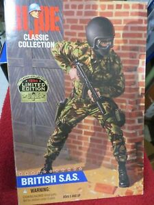 GI Joe Classic Collection 1996 Limited Edition British SAS action figure Kenner
