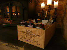 French Wine Box. Fortnum and Mason F&M. Gift / Event Hamper. (BOX ONLY)