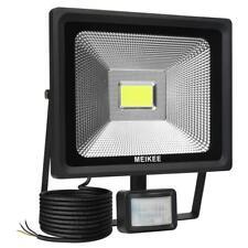 Meikee 30W Sensor De Movimiento Luz Led De Luces De Inundación Seguridad Impermeable 75W luz del día