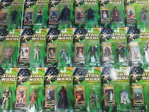 "star wars POWER OF THE JEDI potj ACTION FIGURE MOC 2000 3.75"" hasbro"