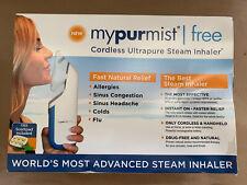Mypurmist Free Cordless Ultrapure Steam Inhaler. New (open Box)