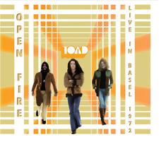 """Toad:  """"Open Fire - Live In Basel 1972""""  (Digipak CD Reissue)"""