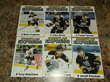 2015-16 COQUITLAM EXPRESS JARELL PINCHUK BCHL SINGLE PLAYER CARD