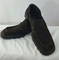 SALVATORE FERRAGAMO Men's Brown Suede Loafers SIZE 13