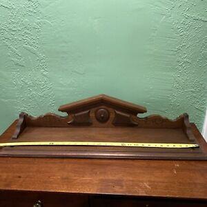 Antique furniture pediment 33x8