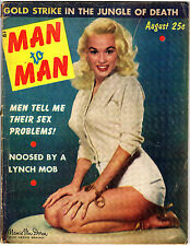 MAN to MAN Magazine MAMIE VAN DOREN COVER + 7 Photos! Pin-ups HOF Don Larsen +++