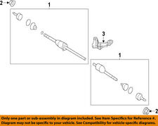 FORD OEM Front Drive-CV Shaft Axle Assy CA8Z3B436D