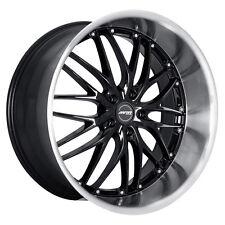 MRR GT1 19x9.5 5x112 Black Wheels Fits Audi b5 b6 b7 b8 c4 c6 Q5