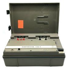Vintage Telex Copyette 1 & 1 Tape Copier Cassette Duplicator TESTED