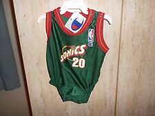 Sonics Gary Payton Baby Jersey Size Size 6 to 9 mos. New