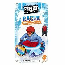 """32"""" SNOW TUBE/SLED W/2 HANDLES~INFLATABLE~ROUND~FOR ONE PERSON"""