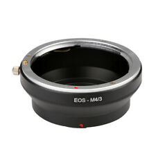 H3E# EOS-M4/3 for Canon EOS EF Mount Lens To Olympus M43 E-P1 Micro 4/3 Adapter