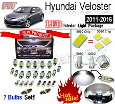 7 Lights Super Bright LED SMD Interior Light Kit For Hyundai Veloster 2011-2016