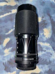 Canon FD 70-210mm F4 zoom FD lens