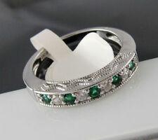 Normal behandelte Echtschmuck-Ringe aus Sterlingsilber Zirkon