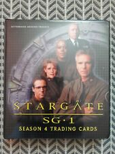 Stargate SG-1 Season 4 Trading Card Sammlung Sammelkarten Autograph Cards