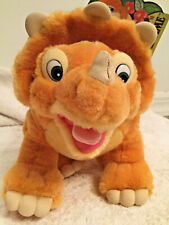 12� Cera Dinosaur Plush Toy From The Land Before Time J.C. Penny 1988 Amblin