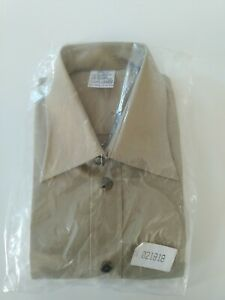 Camicia Estiva Esercito Italiano, nuova, taglia 15 1/2 R (15 e mezzo Regular).