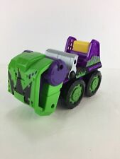 Playskool Marvel Super Hero Adventures SMASH MOBILE with HULK truck car vehicle