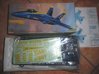KIT MONTAGGIO SCALA 1/72 HASEGAWA BLUE ANGELS F/A 18 A HORNET # 812.800
