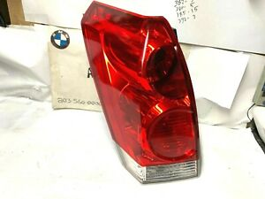 2004-2009 Nissan Quest Tail Light Lamp Assembly DRIVER SIDE TAILLIGHT OEM PART