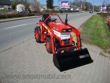 Kleintraktor Schlepper Allrad Kubota B1400 neuem Frontlader gebr. und überholt